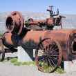Steam power tractor — Stock Photo