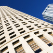 Stock Photo: Looking up in Downtown Tampa