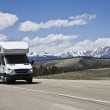 RV in mountains — Stock Photo #3580664