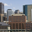 Royalty-Free Stock Photo: Skyscrapers in Denver