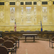 Stock Photo: Court Room