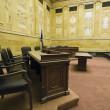 Court Room — Stock Photo
