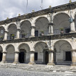 Stock Photo: Administration Building in Antigua