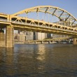 Bridge in Pittsburgh — Stock Photo