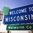 Welcome to Wisconsin — Stock Photo #3585149