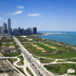 Stock Photo: Grant Park in Chicago