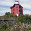 Marquette Harbor Lighthouse - Stock Photo