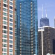 Apartment buildings in Chicago — Stock Photo