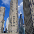 Condo buildings in Chicago - Stock Photo