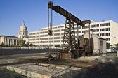 Pumpen i oklahoma city — Stockfoto