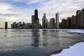 Winter in Downtown Chicago — Stock Photo