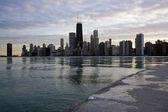 Panorama van chicago — Stockfoto