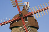 Danish Windmill — Stock Photo
