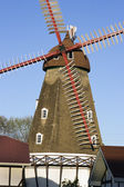 Danish Windmill in Elk Horn — Stock Photo