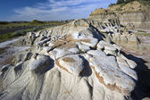 Badlands Formations in Theodore Roosevelt National Park — Stock Photo