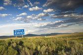 Welcome to Idaho — Stock Photo