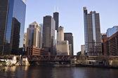 Chicago River — Stock Photo