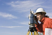 Land Surveying — Stock Photo