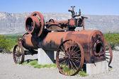 Trator de potência de vapor — Fotografia Stock