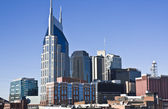 Downtown Nashville, Tennessee — Stock Photo
