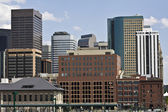 Skyscrapers in Denver — Stock Photo