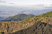 Guatemala City seen from Pacaya Volcano — Stock Photo