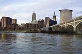Panorama z Clevelandu — Stock fotografie