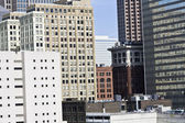 Architecture of Downtown Cleveland — Stock Photo
