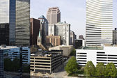 Buildings in Downtown Cleveland — Stock Photo