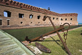 Anchor by Fort Jefferson — Stock Photo