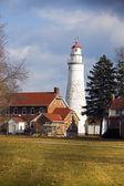 フォート gratiot 灯台 — ストック写真