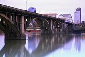Bridge in Little Rock, Arkansas — Stock Photo