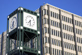 Clock Tower in downtown Memphis — Stock Photo
