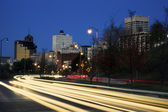Traffic in downtown Memphis — Stock Photo