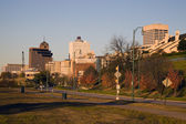 Afternoon in downtown Memphis — Stock Photo