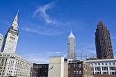 Downtown Cleveland Architecture — Stock Photo