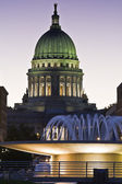 Madison, Wisconsin - State Capitol — Stock Photo