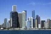Chicago del lago michigan — Foto de Stock