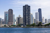 Chicago vu du lac michigan — Photo