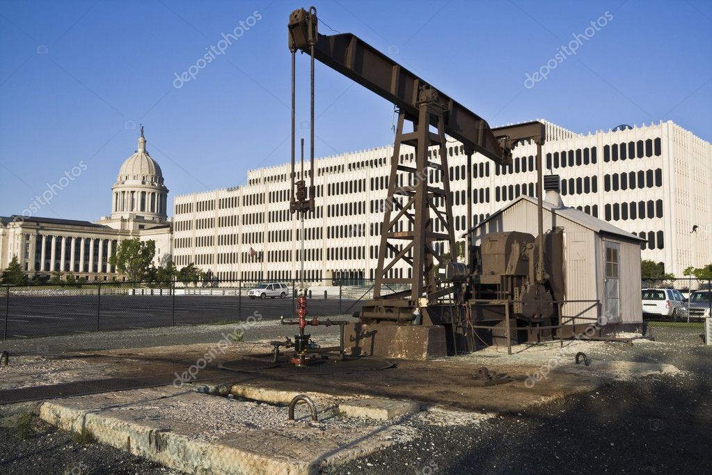State Capitol of Oklahoma in Oklahoma City — Stock Photo #3580106