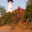 Late afternoon by Au Sable Light Station - Stock fotografie