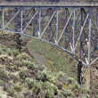 Rio Grande Gorge Bridge - Stock Photo