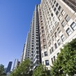 Lakefront Chicago Apartment Building — Foto Stock