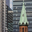 Church in Downtown Chicago - Foto Stock