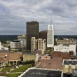 Stock Photo: Akron, Ohio - downtown buildings