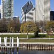 Chicago from the Lake Michigan - Foto Stock