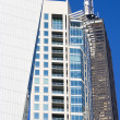 Stockfoto: Strange shaped buildings in Chicago