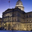 Stock Photo: Lansing, Michig- State Capitol