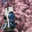 Stock Photo: Spring Land Surveying