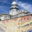 State Capitol in Springfield — Stock Photo